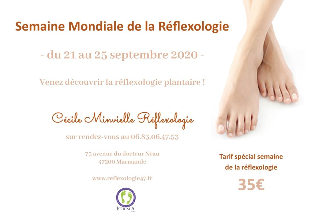 Semaine Mondiale Réflexologie 2020